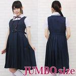 スクールジャンパースカート制服セット JUMBO(衣装・コスチューム)