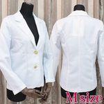 白ジャケット単品 M(衣装・コスチューム)