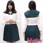 国際高校のセーラー服(中間服) M(衣装・コスチューム)