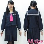 お嬢様風セーラー服 冬制服 M(衣装・コスチューム)