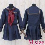 女学院セーラー服(冬制服) M(衣装・コスチューム)