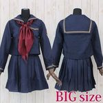 女学院セーラー服(冬制服) BIG(衣装・コスチューム)