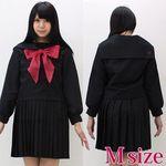 黒セーラー服(冬服) M(衣装・コスチューム)