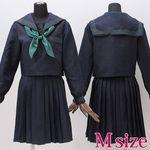 大阪女子校のセーラー服(旧冬服) M(衣装・コスチューム)