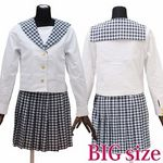 私立学園のセーラー服(中間服) BIG(衣装・コスチューム)