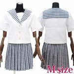 私立学園のセーラー服(夏制服) M(衣装・コスチューム)