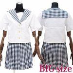 私立学園のセーラー服(夏制服) BIG(衣装・コスチューム)