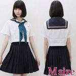 インターナショナルスクールのセーラー服(夏服) M(衣装・コスチューム)