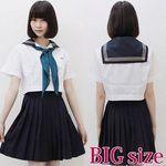 インターナショナルスクールのセーラー服(夏服) BIG(衣装・コスチューム)