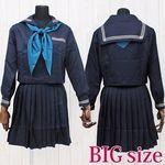 インターナショナルスクールのセーラー服(冬服) BIG(衣装・コスチューム)