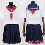 ミッション系中高一貫校のセーラー服(夏服) M(衣装・コスチューム)