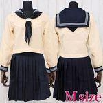 大學付属高等学校のセーラー服(冬服) M(衣装・コスチューム)