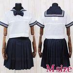 私立女子学園中学校・高等学校のセーラー服(夏服) M(衣装・コスチューム)
