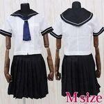 私立女子高等学校のセーラー服 M(衣装・コスチューム)