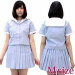 山陽の女子高校セーラー服(旧夏制服) M(衣装・コスチューム)