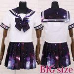 宇宙ロマンティックセーラー 紫 BIG(衣装・コスチューム)