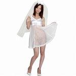 シースルーウエデイングドレス(衣装・コスチューム)