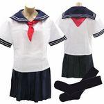 男の娘のコス セーラー服(衣装・コスチューム)