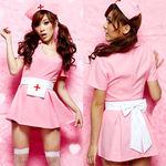 可愛いピンクのナースワンピース(衣装・コスチューム)