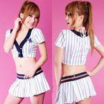 セクシーストライプチアガール(衣装・コスチューム)
