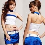 ブルー×ホワイトレースクィーン(衣装・コスチューム)