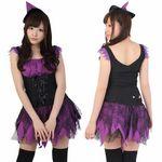 魔女・ノースリーブ・紫(衣装・コスチューム)
