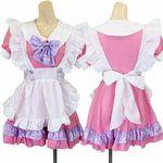 パステルフリルメイド・ピンク(衣装・コスチューム)
